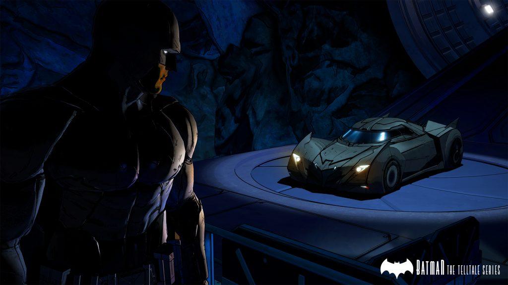 Batman The Telltale Series -Batcave Batmobile