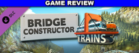 Four years after the release of Bridge Constructor, Headup Games has released a new DLC containing 18 new levels and featuring trains, rather than automobiles, as the vehicle of choice.