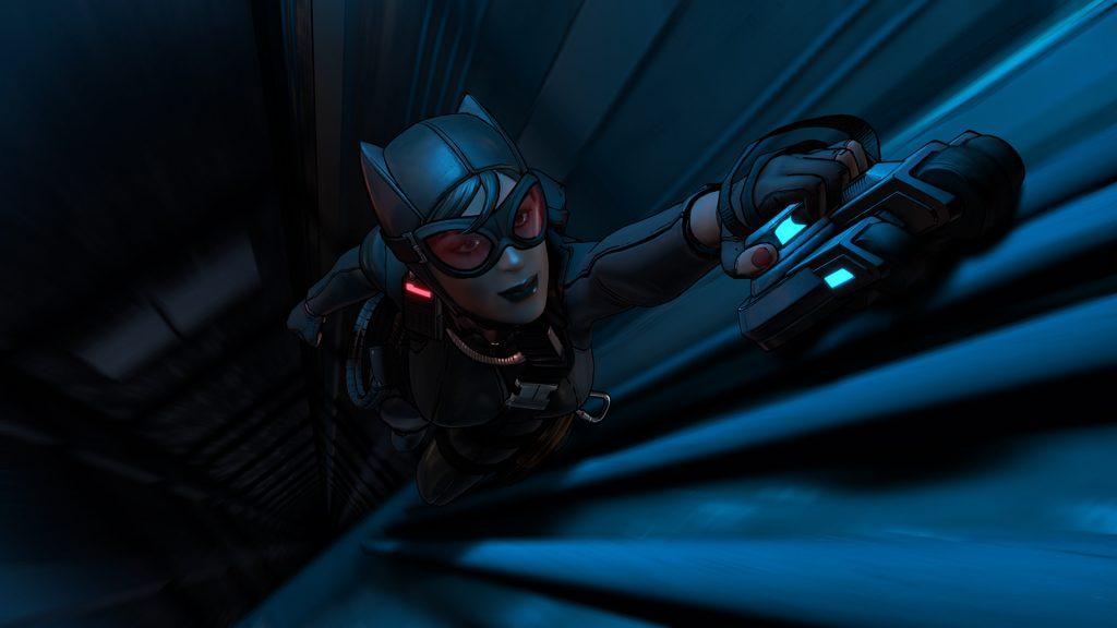 Batman The Telltale Series - Selina Elevator