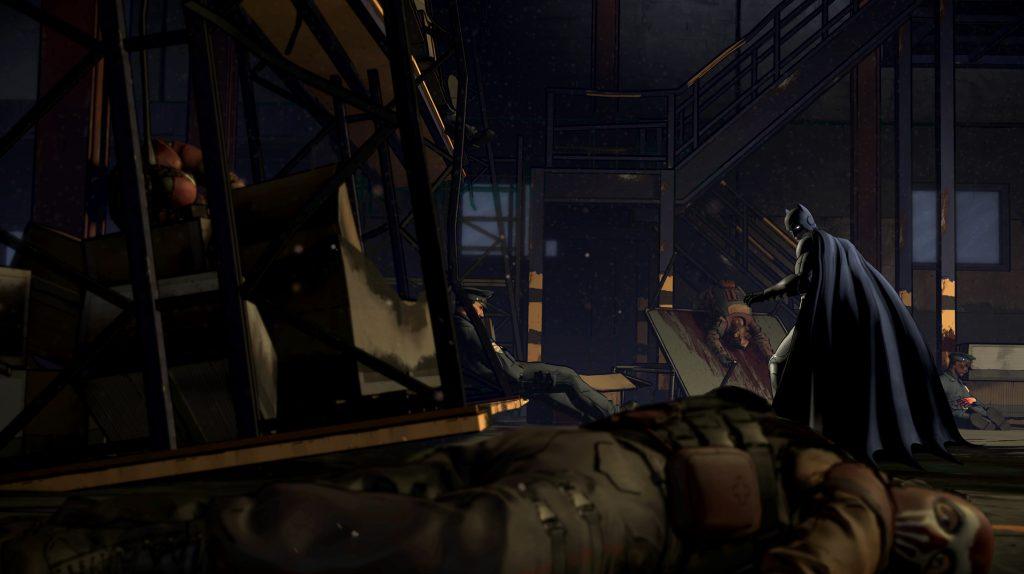 Batman The Telltale Series - Warehouse