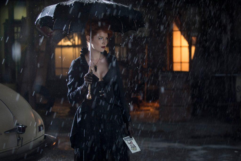Emily Beecham - Into the Badlands - rain