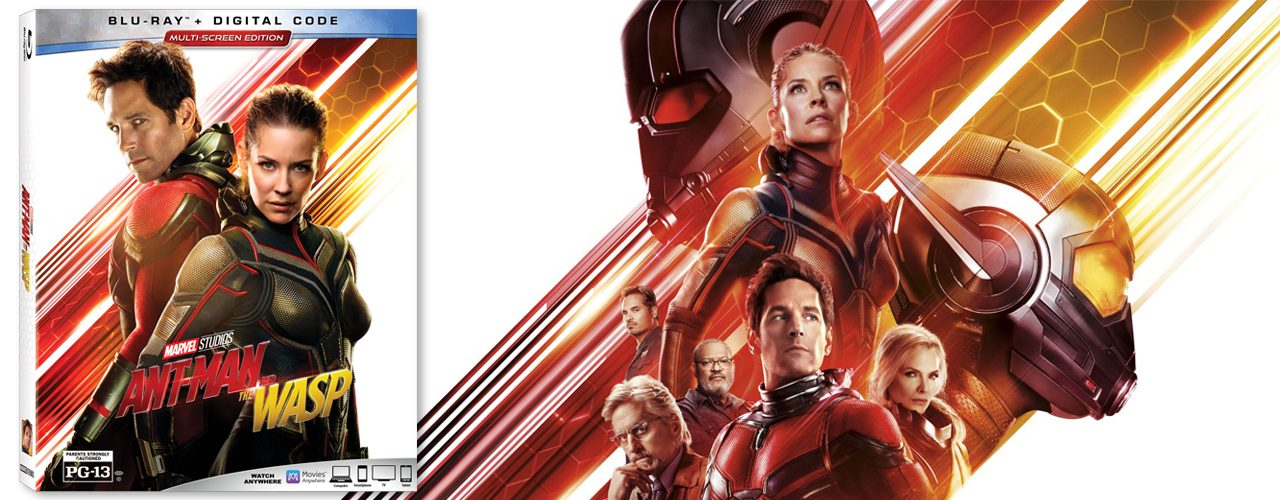 Win a copy of Ant-Man and the Wasp on Blu-ray!   The Geek