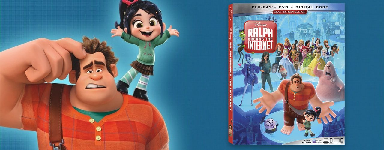 Win a Ralph Breaks the Internet Blu-ray Combo Pack! | The Geek
